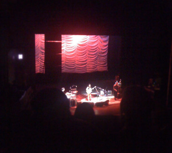 Low resolution, fair use image of Ani Difranco concert.