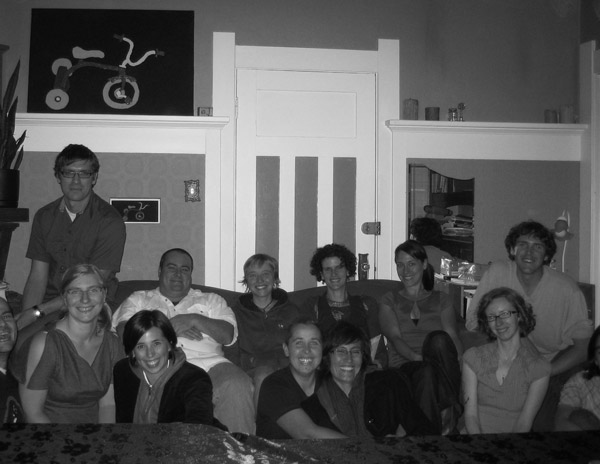 Stewart, Becky, Dale, Lisa, Jennifer, Wrye, Serena, Rusty, Tobi and... Thanksgiving 2009