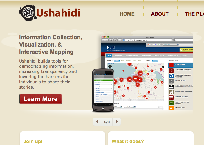 Ushahidi software