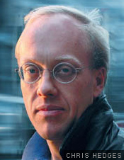 Portrait of Chris Hedges
