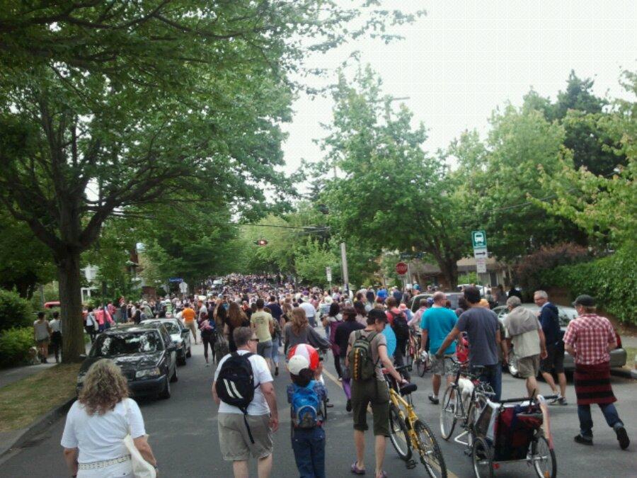 Victoria Pride march