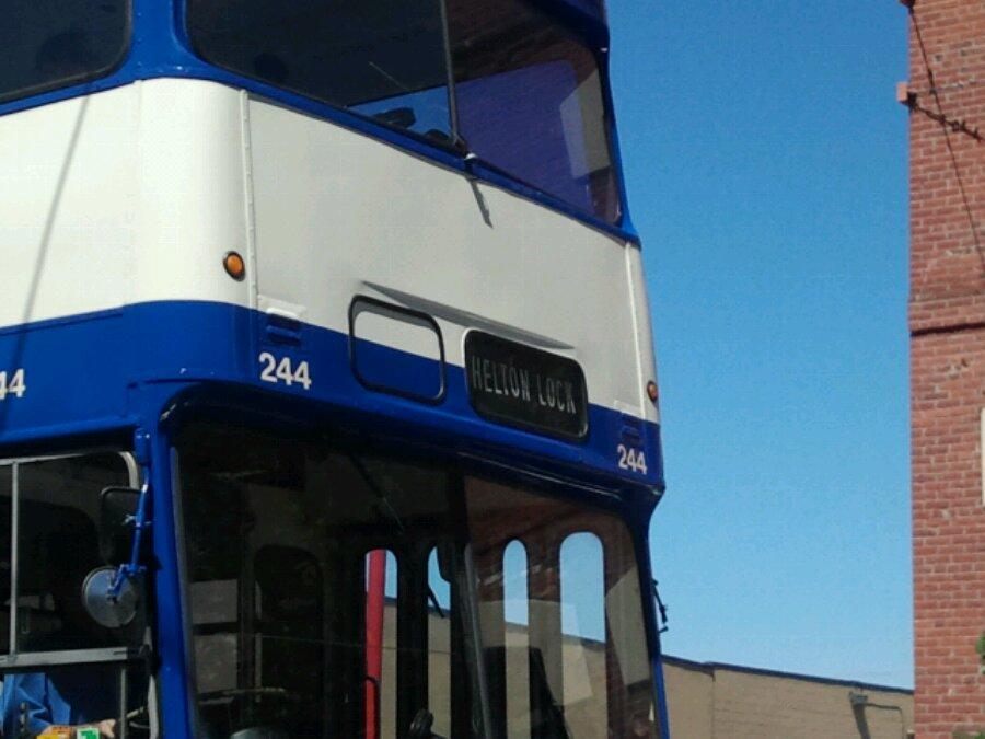 Double decker bus in Victoria
