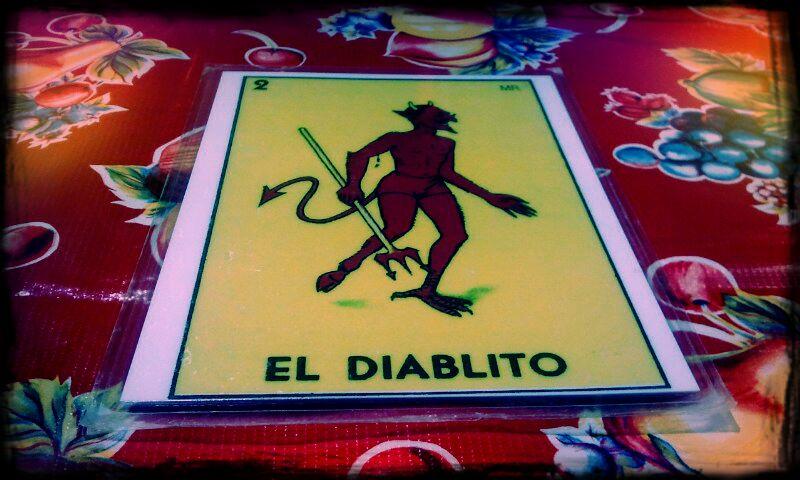 El Diablito: Hernandez meal card