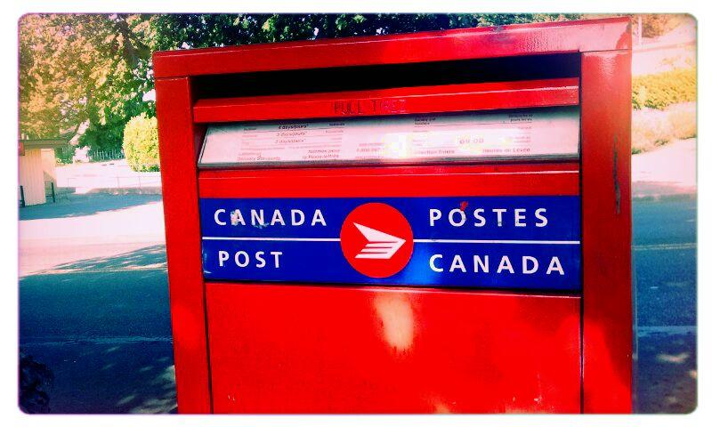 Canada Post box in Victoria West