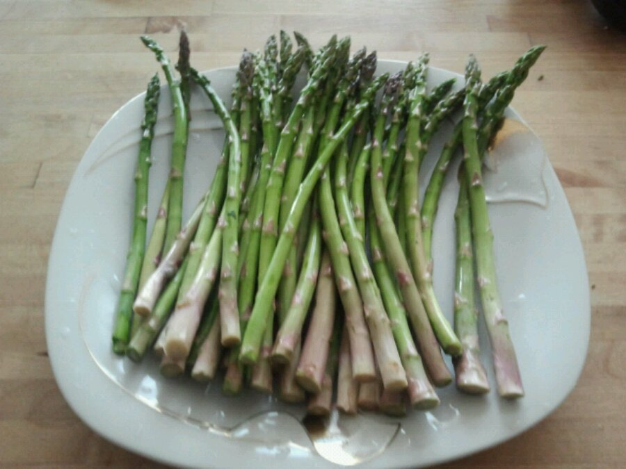 asparagus is great for the barbecue