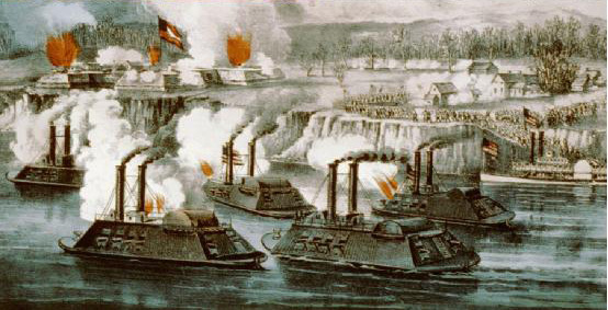 warships from the American Civil War