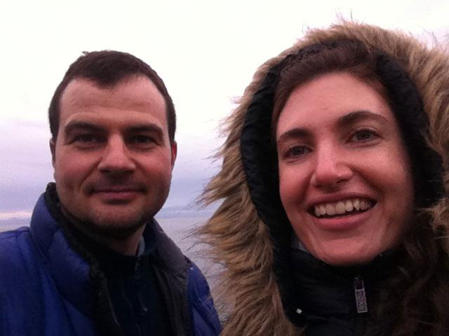 Sherwin Arnott and Glenna Garramone
