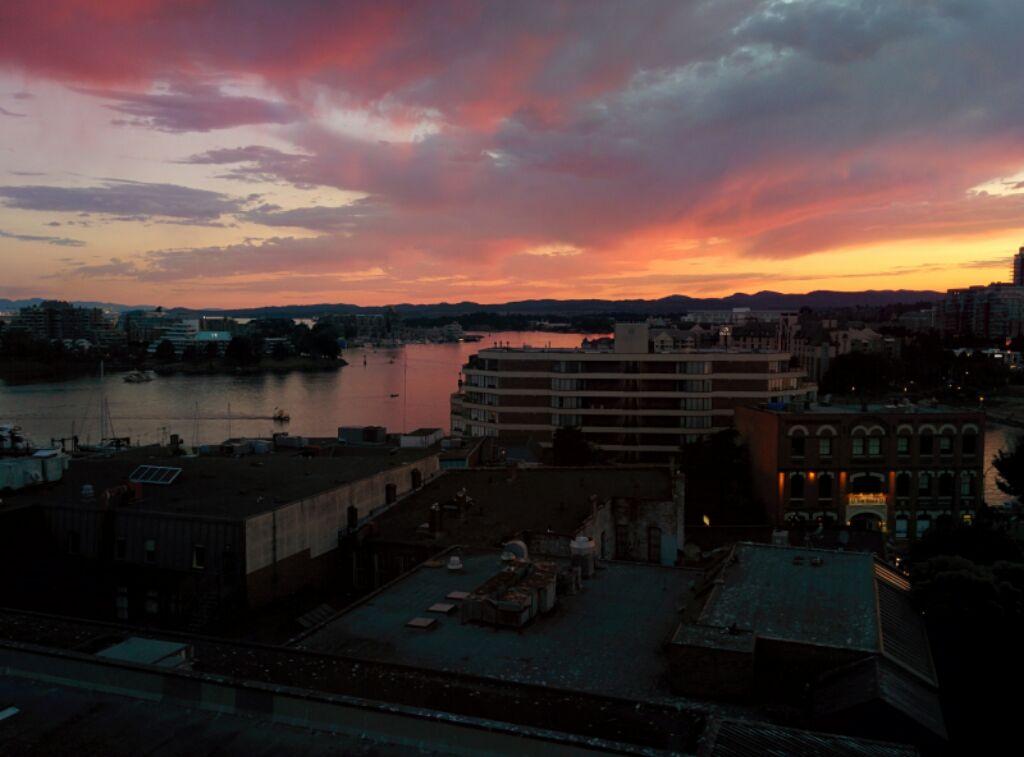Sunset. Rest. Peace.