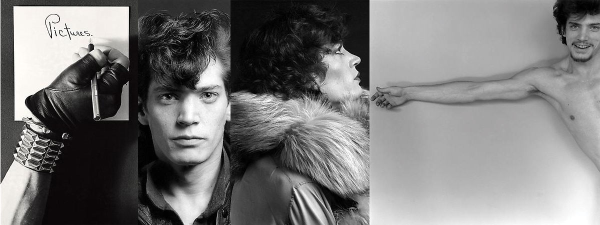 Self portraits of Robert Mapplethorpe