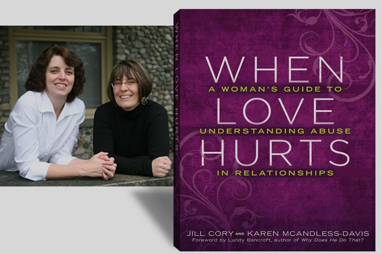 Karen and Jill, When Love Hurts book cover.