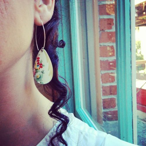Brand new earring by @tonicjewelryvictoria