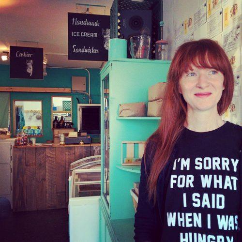 Autumn (@misscoldcomfort) rocking her @primastrada t-shirt