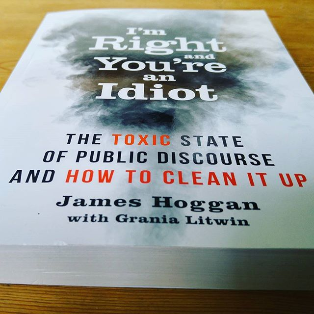 Currently reading this collection of takes on PR, news, media and the polluted public square, by James Hoggan and Grania Litwin