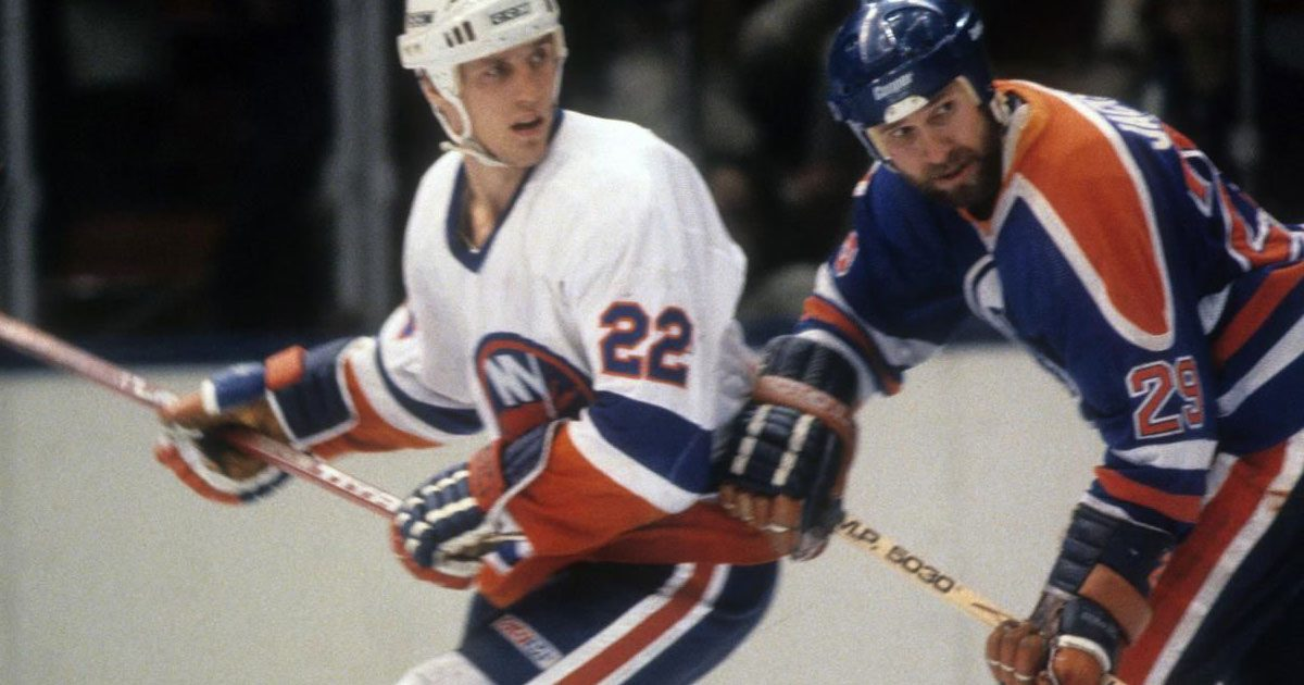 New York Islanders versus the Edmonton Oilers