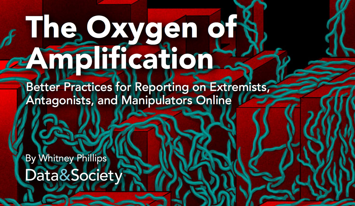 Oxygen of amplification report cover.